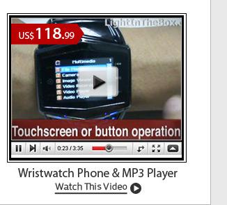 Wristwatch Phone & MP3 Player
