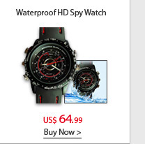 Waterproof HD Spy Watch