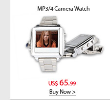 MP3/4 Camera Watch