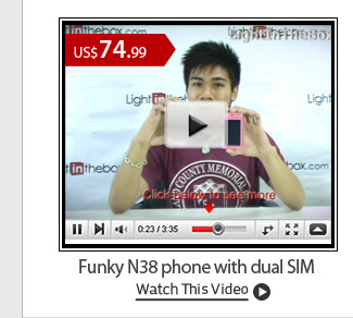 Funky N38 phone with dual SIM