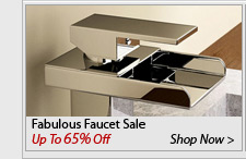 Fabulous Faucet Sale