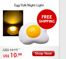 Egg Yolk Night Light