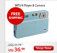 MP3/4 Player & Camera