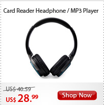 Card Reader Headphone/MP3 Player