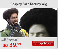 Cosplay Sazh Katzroy Wig