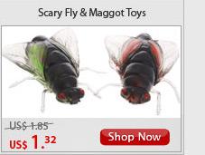 Scary Fly & Maggot Toys