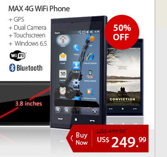 MAX 4G WiFi Phone