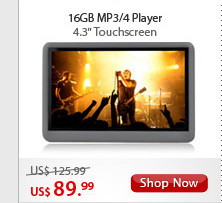 16GB MP3/4 Player