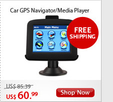 Touchscreen Car GPS Navigator/Media Player