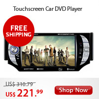 Touchscreen Car DVD Player