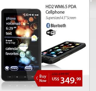 HD2 WM6.5 PDA/Cellphone