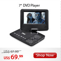 "7"" DVD Player"