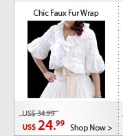 Chic Faux Fur Wrap