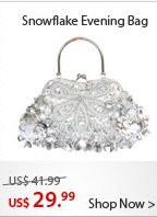 Snowflake Evening Bag