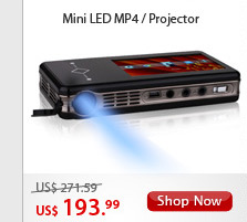 Mini LED MP4/Projector