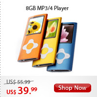 8GB MP3/4 Player