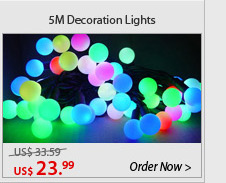 5M Decoration Lights