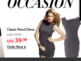 Classic Pencil Dress