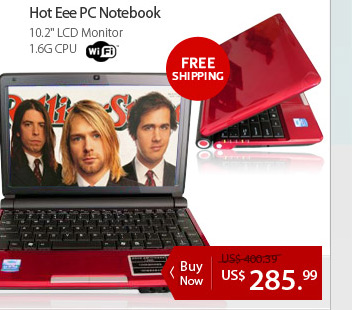 Hot Eee PC Notebook