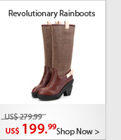 Revolutionary Rainboots