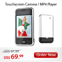 Touchscreen Camera/MP4 Player