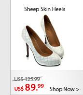 Sheep Skin Heels