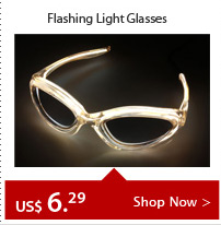 Flashing Light Glasses