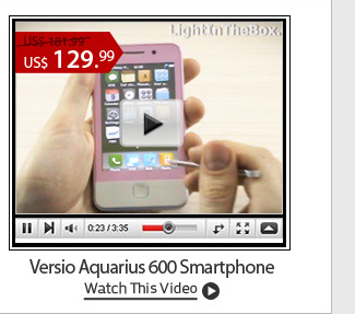 Versio Aquarius 600 Smartphone