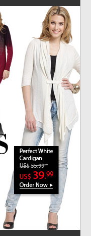 Perfect White Cardigan