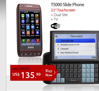 T5000 Slide Phone