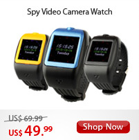 Spy Video Camera Watch
