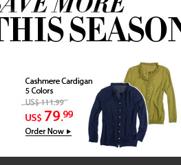 Cashmere Cardigan  5 Colors