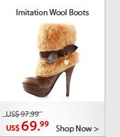 Imitation Wool Boots