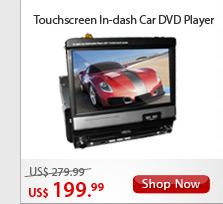 Touchscreen In-dash Car DVD Player