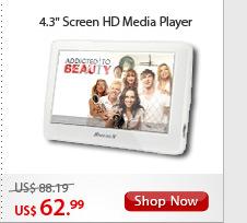 "4.3"" Screen HD Media Player"