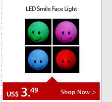 LED Smile Face Light