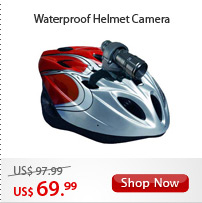 Waterproof Helmet Camera