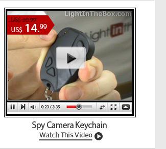 Spy Camera Keychain