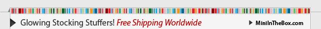 Glowing Stocking Stuffers!Free Shipping Worldwide