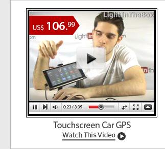 Touchscreen Car GPS