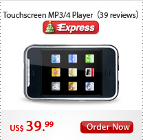 Touchscreen MP3/4 player