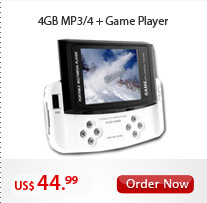 4GB MP3/4 +Game Player