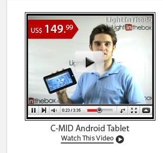 C-MID Android Tablet