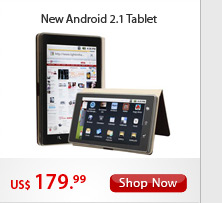 New Android 2.1 Tablet