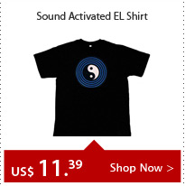 Sound Activated EL Shirt
