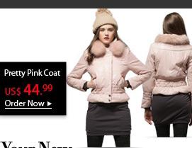 Pretty Pink Coat