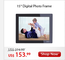 "15"" Digital Photo Frame"