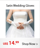 Satin Wedding Gloves