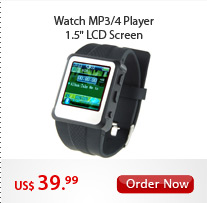 Watch MP3/4 Player