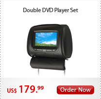 Double DVD Player Set